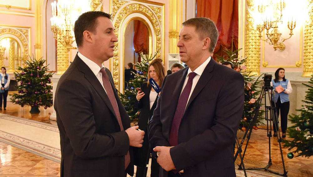 Брянский губернатор Богомаз принял участие в заседании Госсовета
