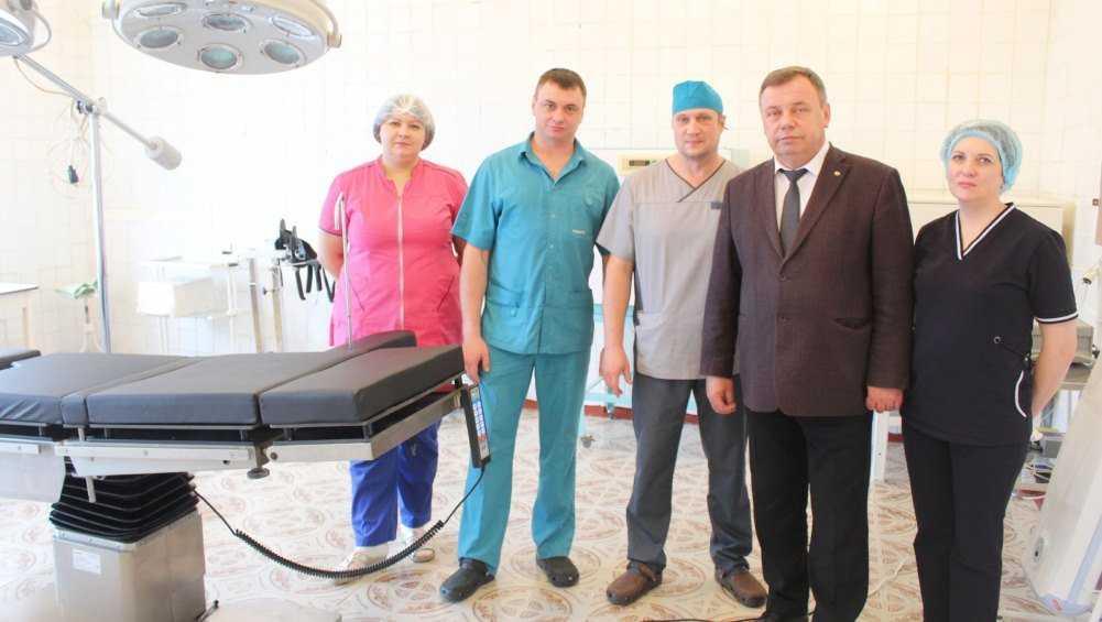 Заместитель брянского губернатора оценил ремонт Навлинской больницы