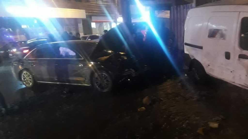 Пьяный сын генерала полиции сбил детей на тротуаре