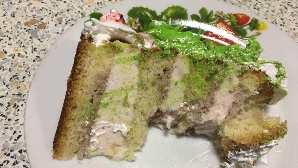 Жительница Брянска пожаловалась на пластмассовый торт от кудесницы