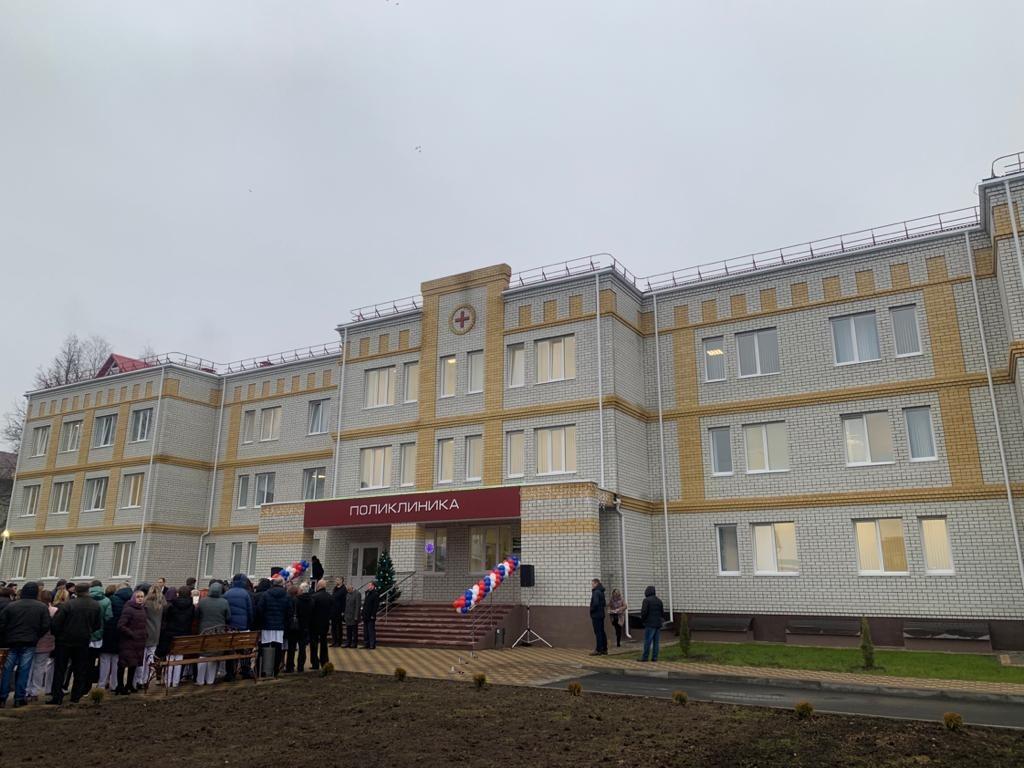 В Супоневе Брянского района открыли долгожданную поликлинику