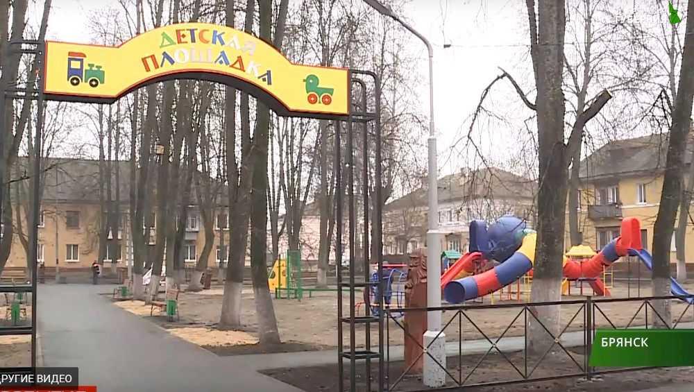 В Белых Берегах детям подарили игровую площадку