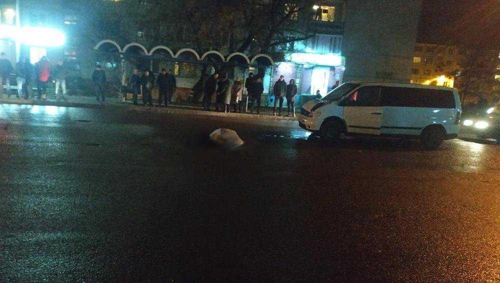 В Брянске обратились к очевидцам гибели сбитого микроавтобусом мужчины