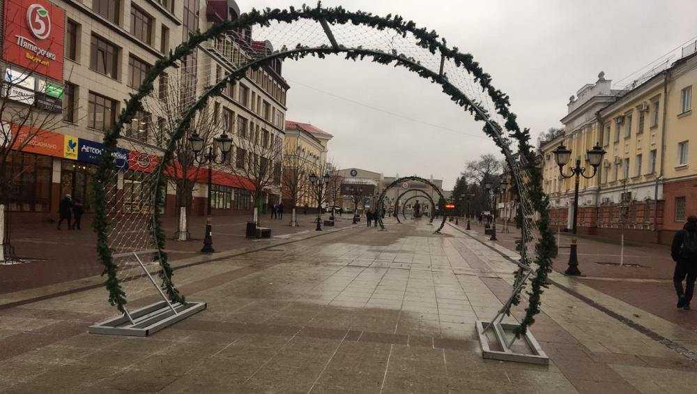 В Брянске установили «арки желаний» на бульваре Гагарина
