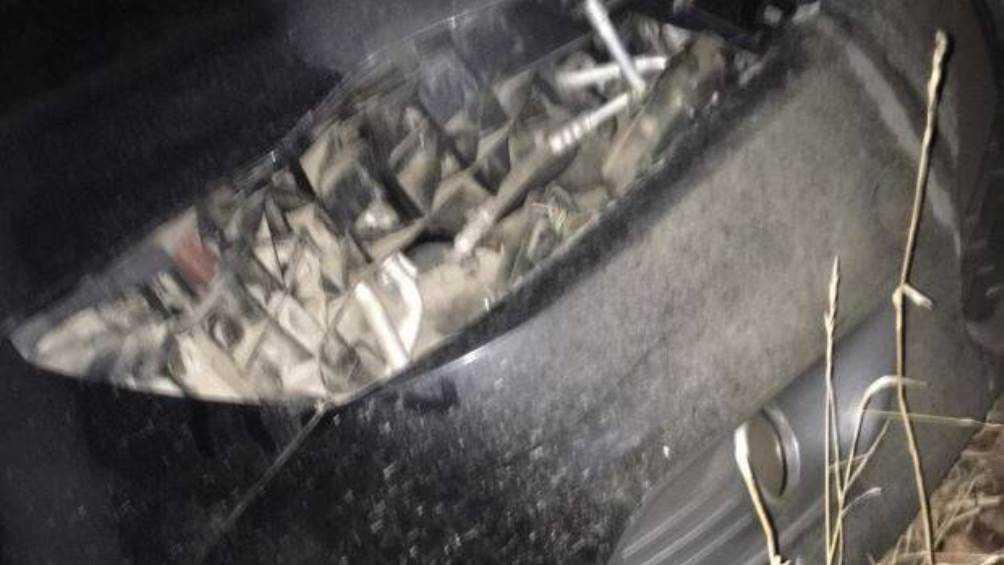 В Брянске припаркованную иномарку воры лишили фар