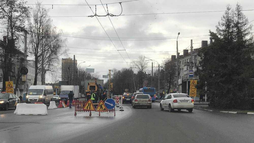 В Брянске магическое кольцо возле «Полтинника» стало безопаснее