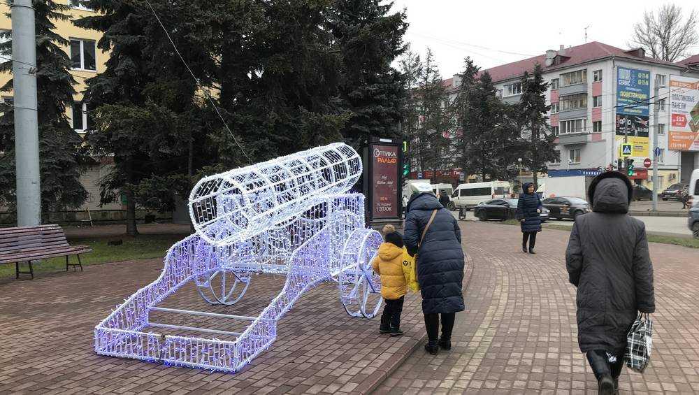 Жители Брянска попросили зажигать новогодние пушки и самолеты днем