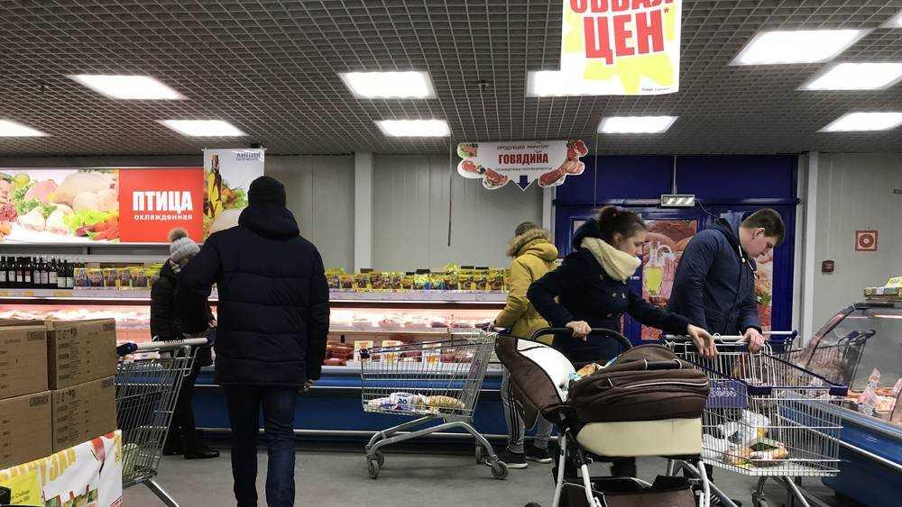 Брянские магазины опустели