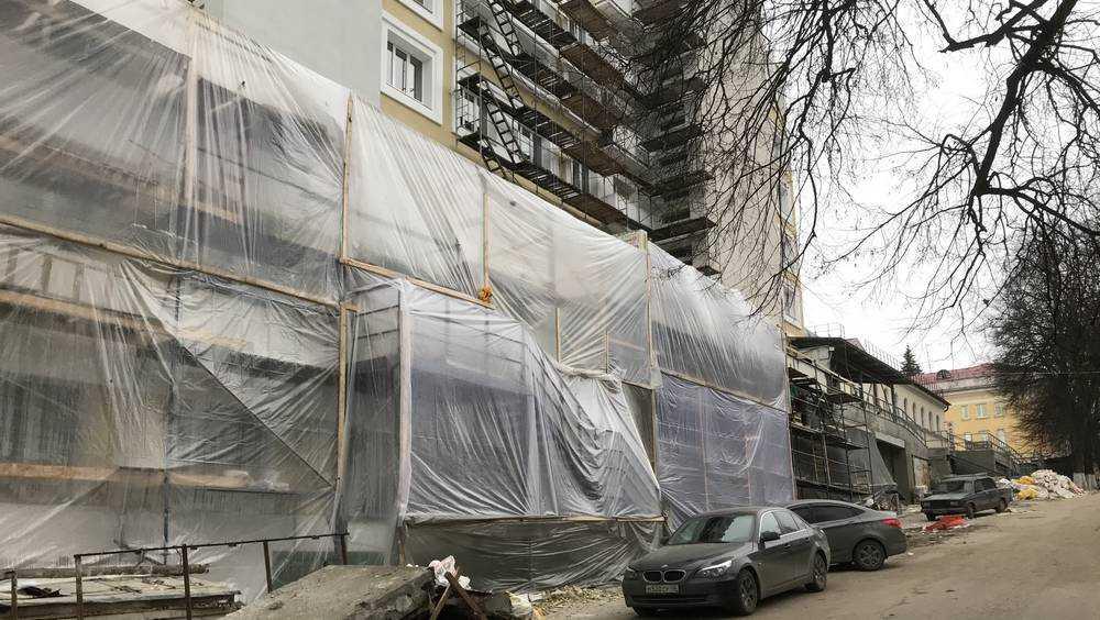 В Брянске подошел к завершению ремонт кардиодиспансера