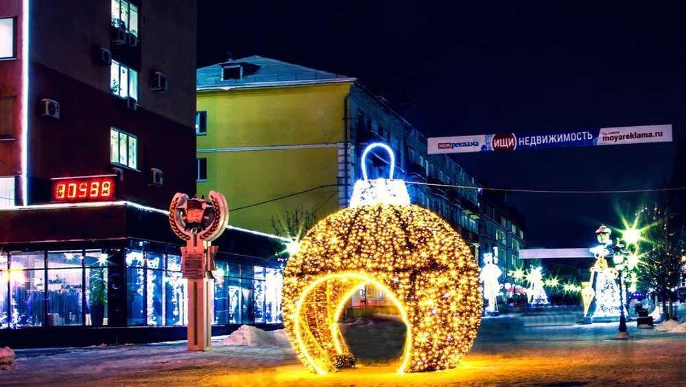 В Брянске к Новому году появятся около 30 новых инсталляций