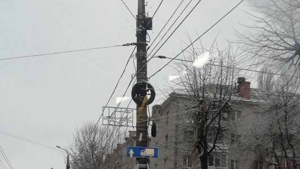 В Бежицком районе Брянска впервые установили «смотрящее око»