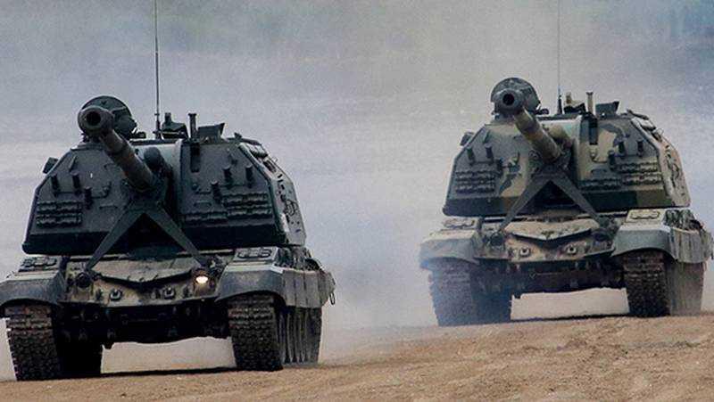 К границе в Брянской области перебросят гаубицы «Мста-СМ1»