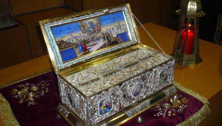 В Брянск привезут ковчег с частью пояса пресвятой Богородицы