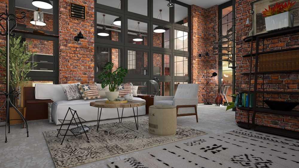 Как выбрать диван для помещения в стиле лофт