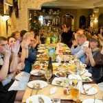 Брянские чиновники весело провели в ресторане новогодний корпоратив