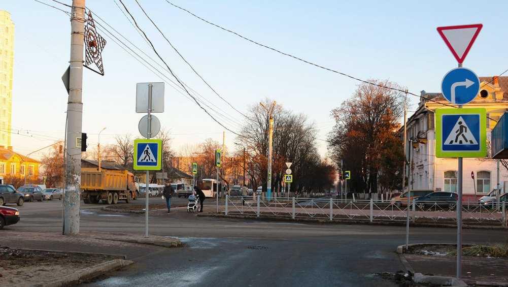 В Брянске проспект Московский привели в порядок после строительства ливнёвки