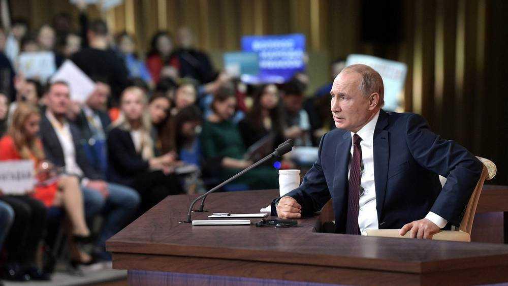 Брянским журналистам не позволили задать вопрос Путину