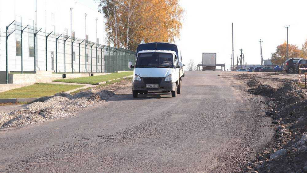 Новая объездная дорога освободила Севск от пробок