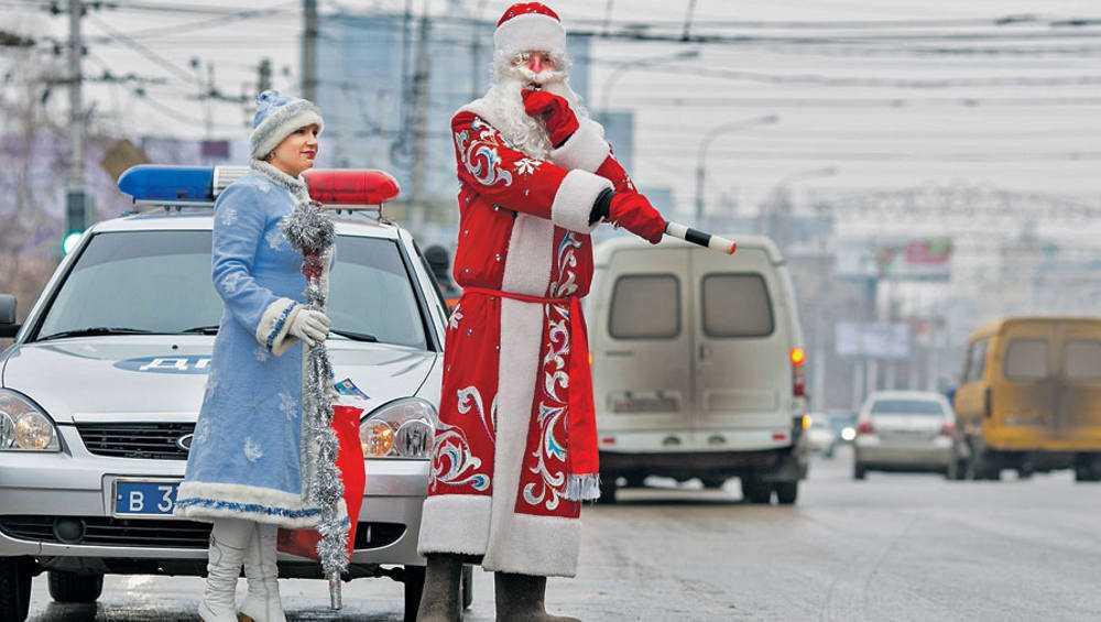 В Брянске ограничат движение автомобилей в новогоднюю ночь
