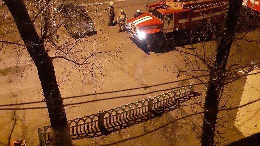 Брянские пожарные прибыли по тревоге к детсаду «Пингвиненок»