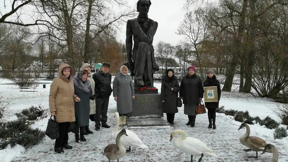 В Овстуге отметили день рождения поэта Тютчева