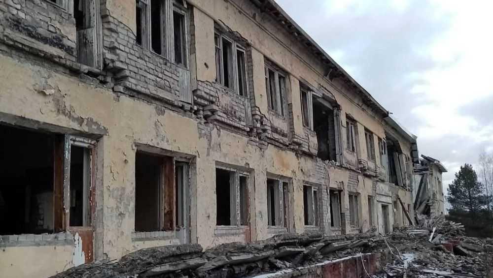 Разрушенный пансионат под Брянском назвали второй Припятью