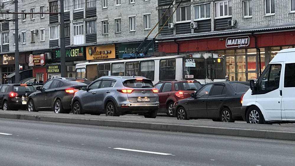Брянских водителей напугали сообщением о пробке в Бежице