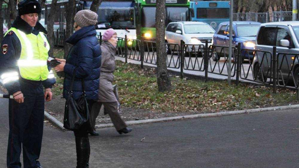 Облавы на пешеходов в Брянске продлятся до 20 декабря