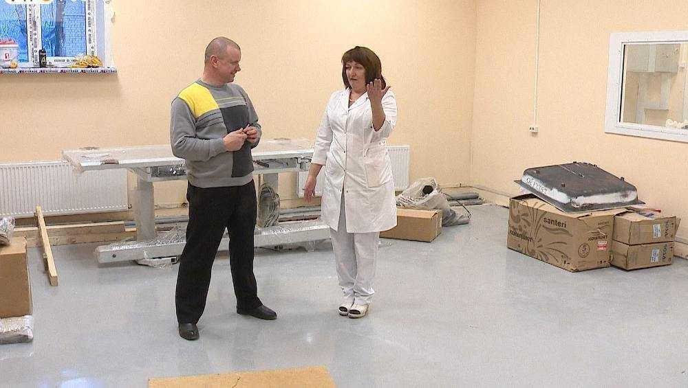 В брянской больнице №4 рентген будут делать на более высоком уровне