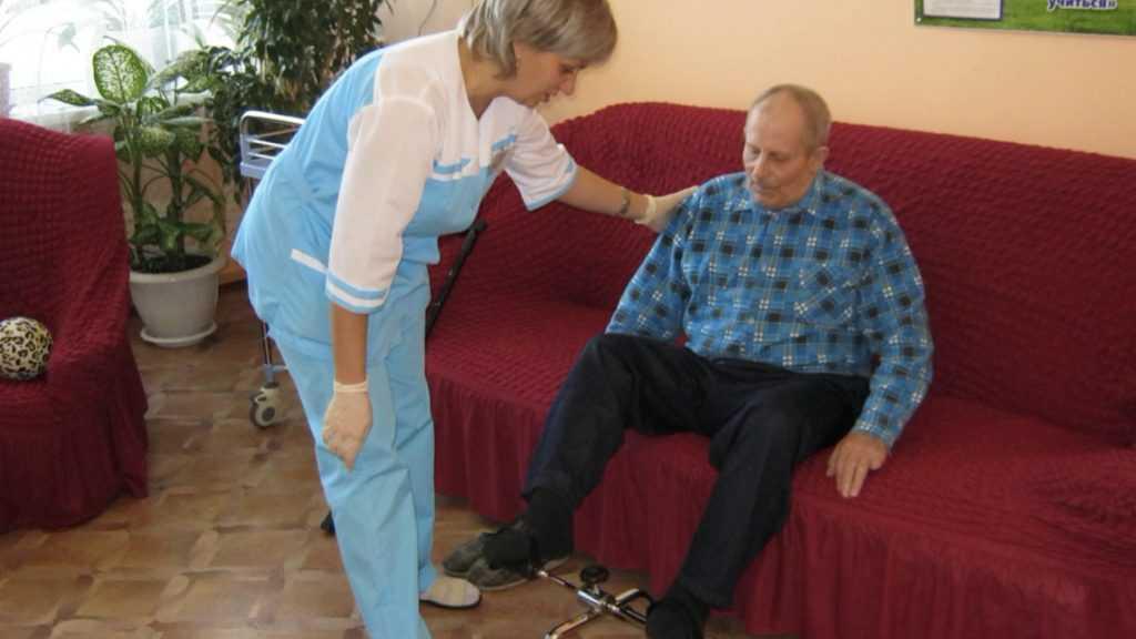Инвалиды Новозыбковского интерната получают достойный уход