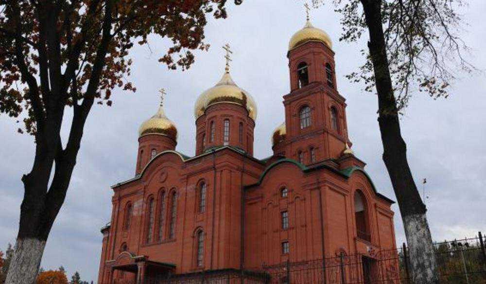 На Рождество пройдет первая служба в Клинцовском кафедральном соборе