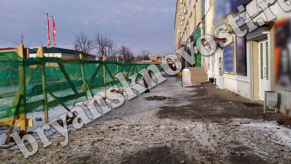 Жители Новозыбкова потребовали остановить стройку нового ТЦ
