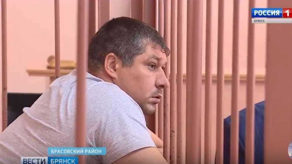 Брянского полицейского посадили на 13 с половиной лет за гибель парня