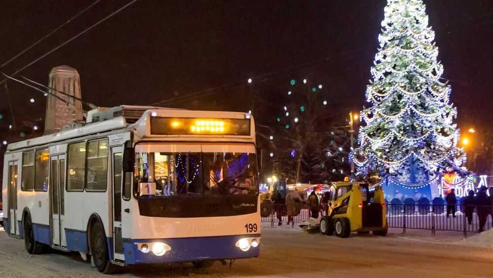 В Брянске изменят график работы троллейбусов