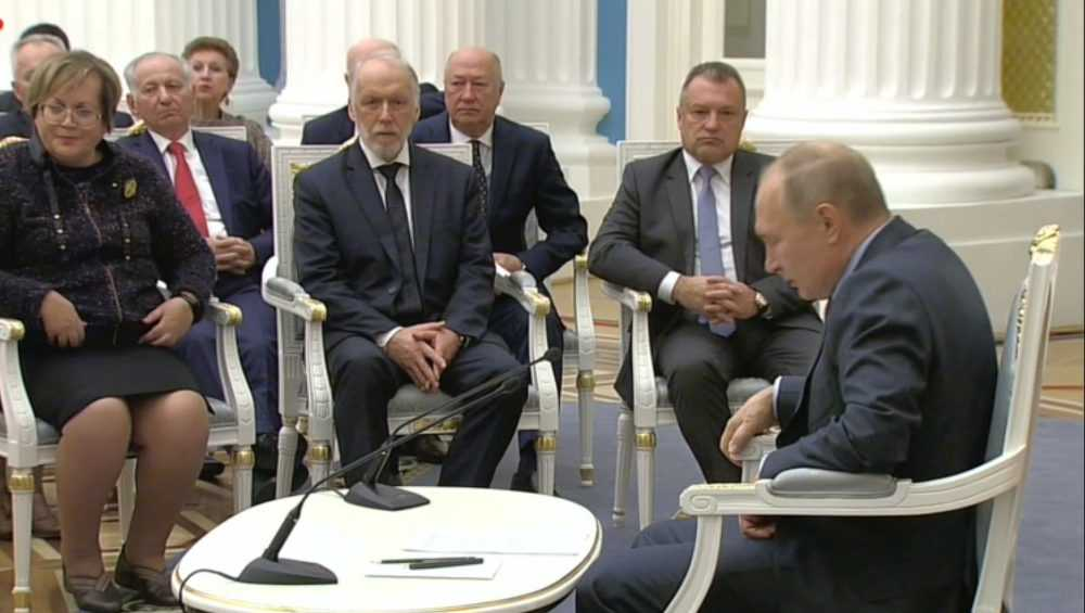 Брянский омбудсмен Вячеслав Тулупов встретился с Владимиром Путиным