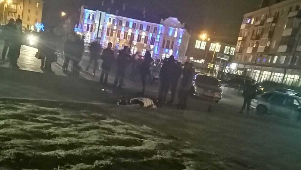 Появились видео и фото с места расстрела женщины в Клинцах