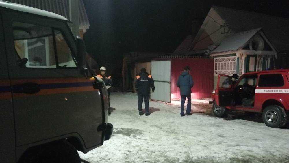 При взрыве в Брянском районе пострадал мужчина