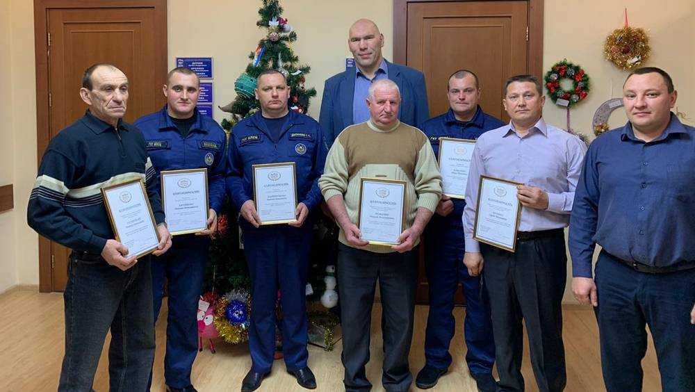 Николай Валуев провел рабочие встречи с брянцами в приёмной «Единой России»