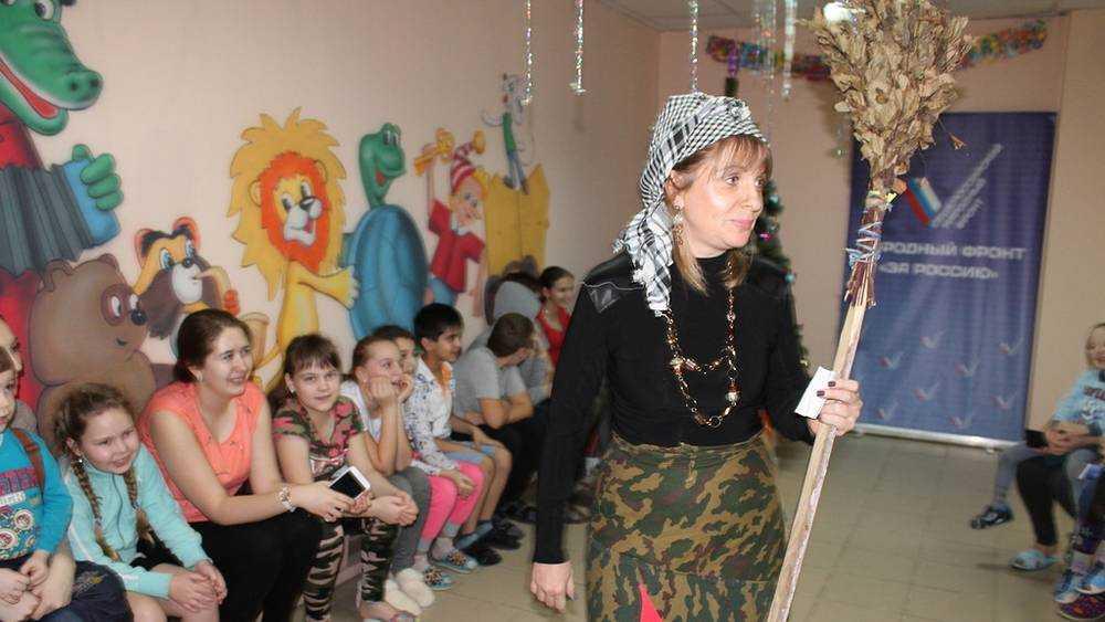 Брянские активисты ОНФ провели акцию «Новогоднее чудо»