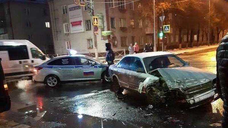 В Брянске в ДТП с маршруткой ранена 41-летняя женщина