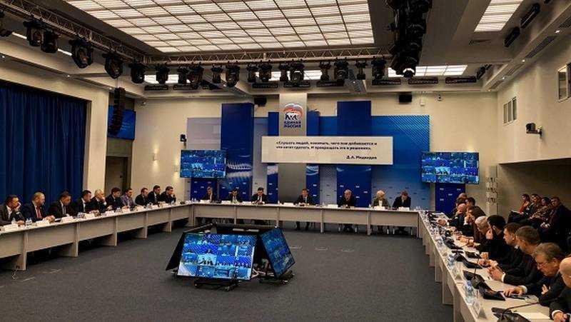 На заседании президиума генсовета  «Единой России» отметили успешный опыт Брянщины по созданию мест в ясельных группах