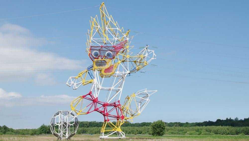 В Брянской области для линий электропередачи установят арт-опоры
