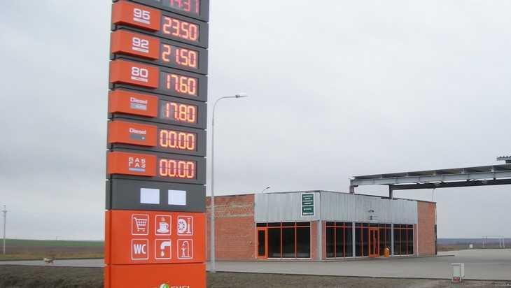 В Брянской области бензин резко подорожал перед Новым годом