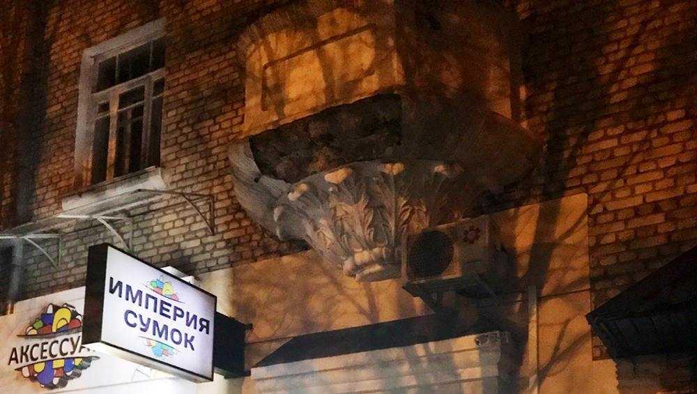 В Бежице на улице Куйбышева обвалился балкон