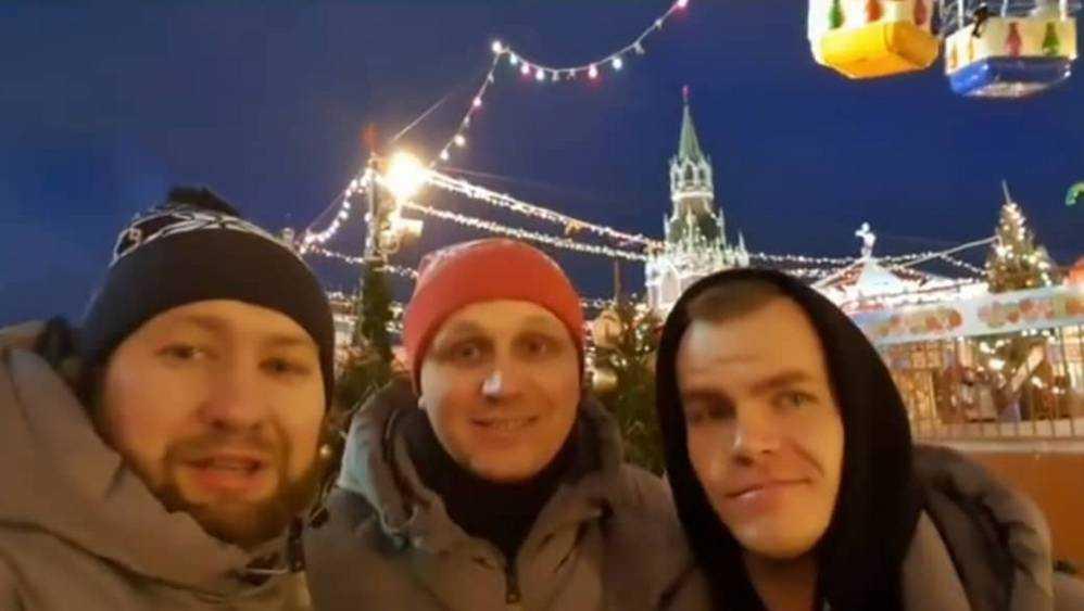 «Бабкины внуки» передали брянцам музыкальный привет с Красной площади