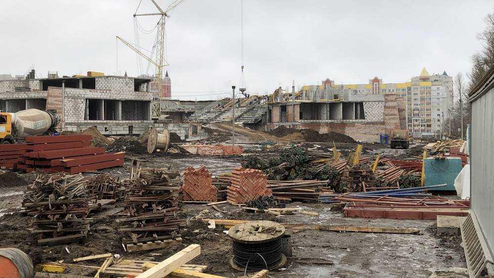 Возникли трудности при строительстве Дворца единоборств в Брянске