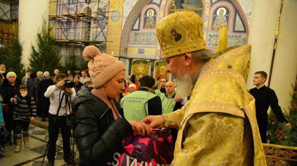 Неравнодушные брянцы подарили радость на Рождество 60 семьям
