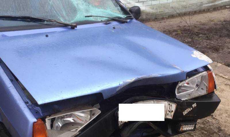 Изобличен брянский водитель, едва не залетевший на машине в церковь