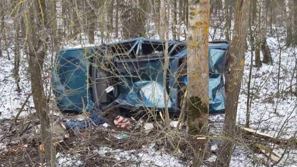Под Климовом в ДТП погиб не пристегнутый ремнем безопасности водитель