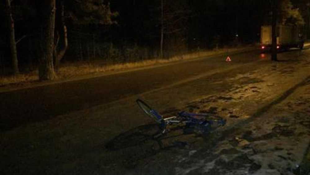 В Брянске грузовая «ГАЗель» в темноте сбила велосипедиста